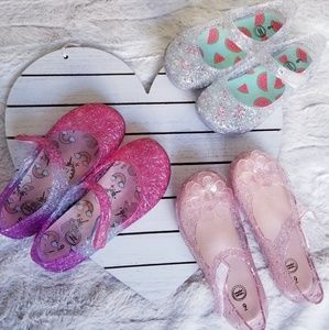 Toddler Girl's Jelly Sandals Bundle - SZ 9